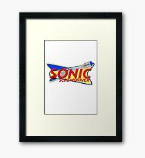 Sonic Framed Print
