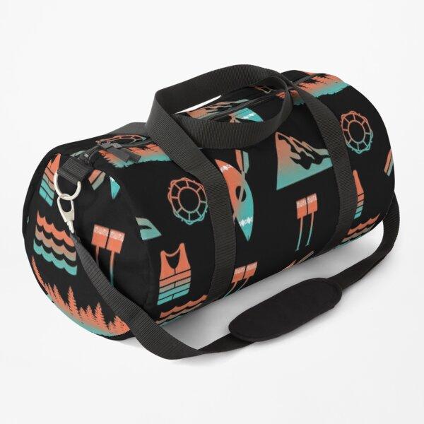 Kayaking Pattern Duffle Bag