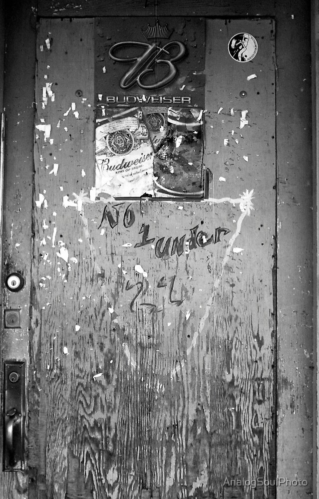 Red's Blues Club Door by AnalogSoulPhoto