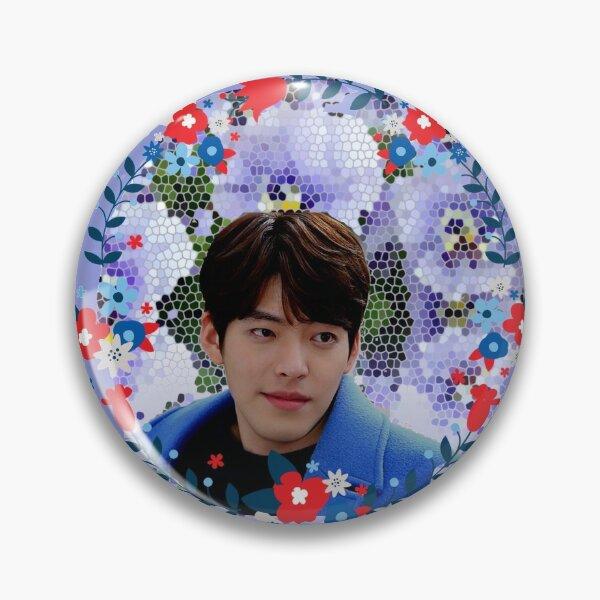 [Kim Woo Bin + Blue Flowers] Pin