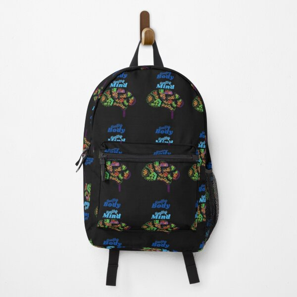 Healthy Body Healthy Mind Backpack