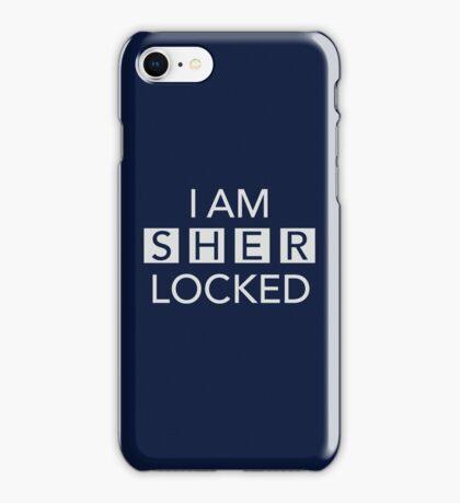 Sherlocked Blue iPhone Case/Skin