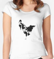 Continent Chicken Women's Fitted Scoop T-Shirt