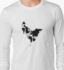 Continent Chicken Long Sleeve T-Shirt