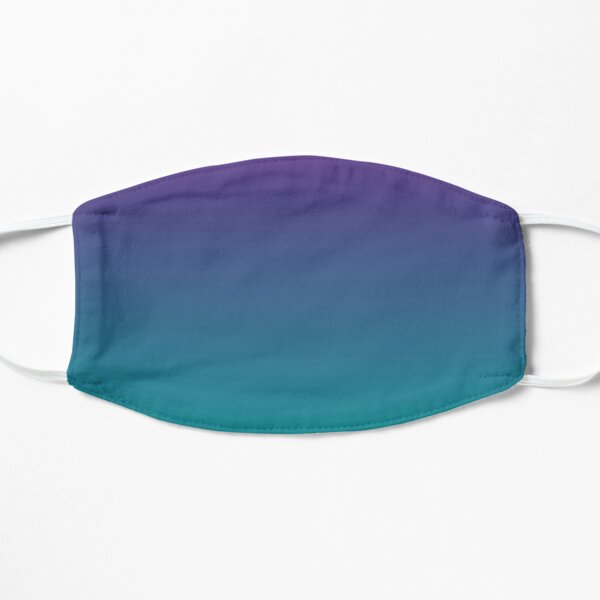 Ombre | Gradient Colors | Purple and Teal |  Mask