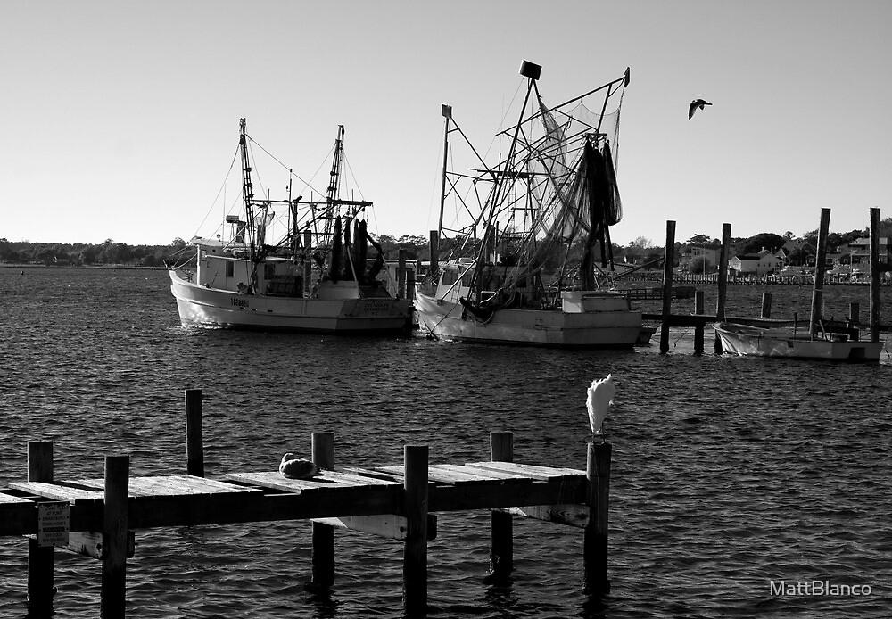 Shrimp Boats by MattBlanco