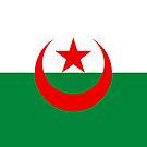Algeria Flag by pjwuebker