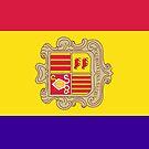 Andorra Flag by pjwuebker