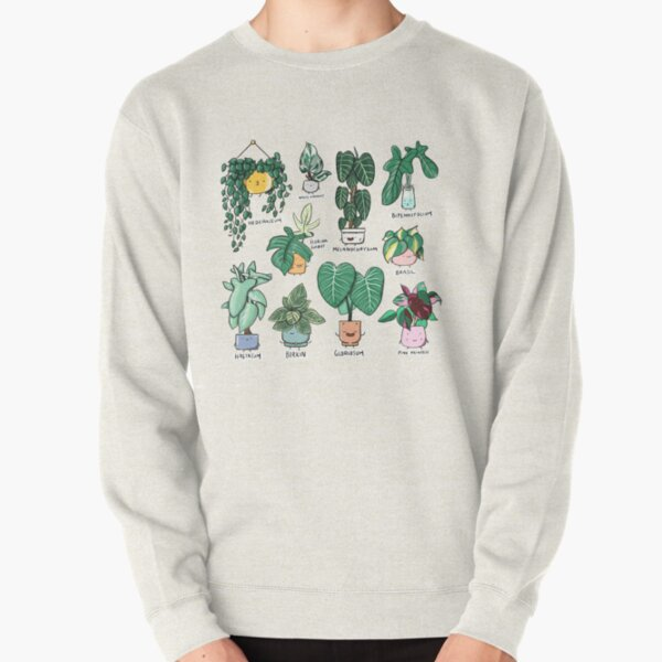 Philodendron Family Pullover Sweatshirt