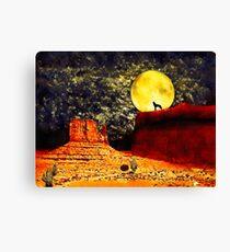 Desolate Desert Canvas Print