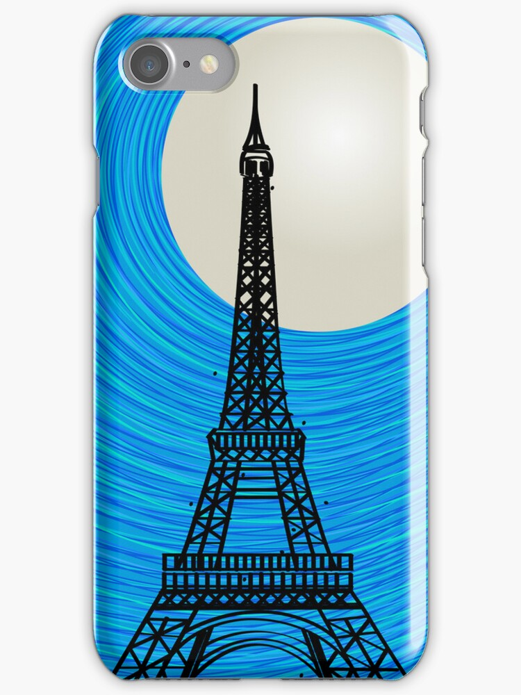 Paris card by Richard Laschon