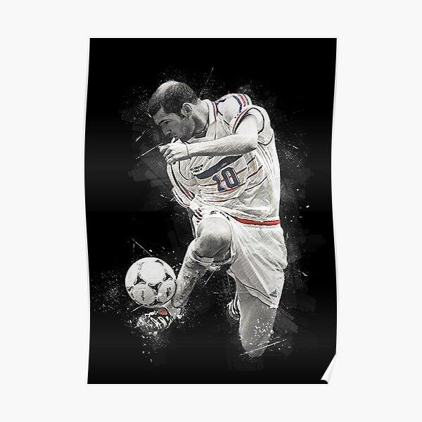 Fond d'écran Zidane Art Poster