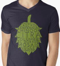 American Hop Flower Men's V-Neck T-Shirt