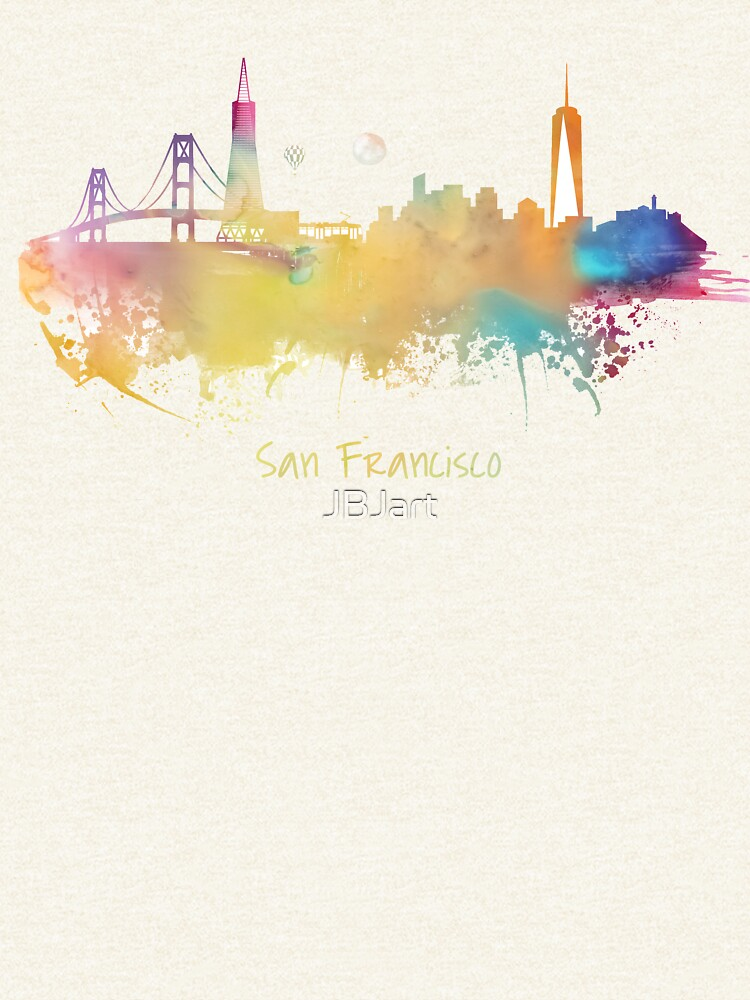 San Francisco City Skyline  by JBJart