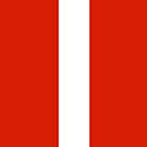 Austria Flag by pjwuebker