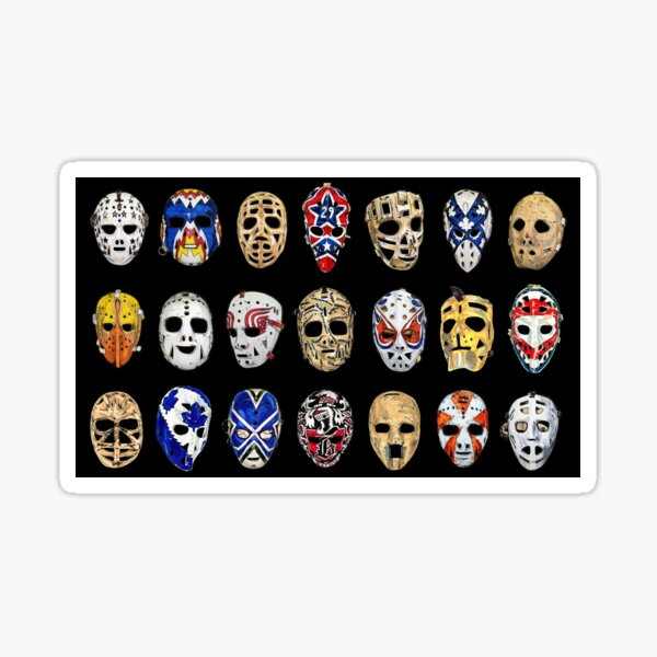 Mask Sequence (Black) Sticker