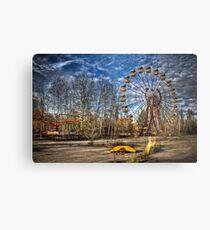 Prypiat/Chernobyl Abandoned Ferris Wheel Metal Print