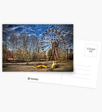 Prypiat/Chernobyl Abandoned Ferris Wheel Postcards