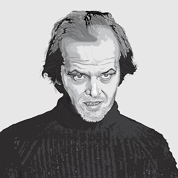 Jack Nicholson (Jack Torrance) The Shining  by Feelmeflow