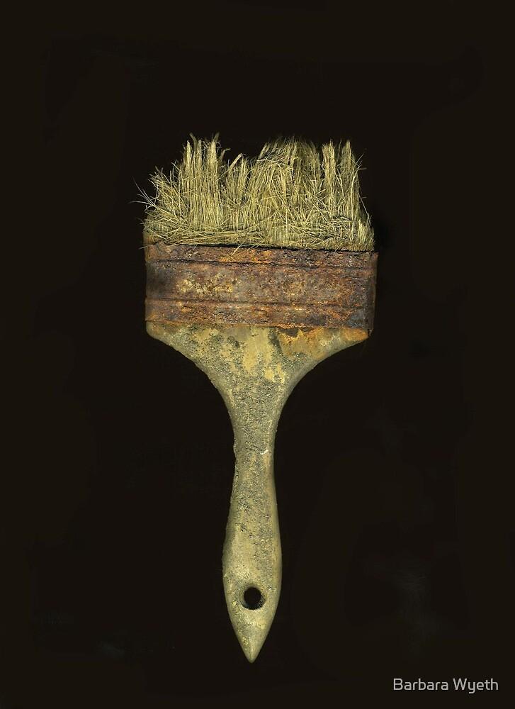 Old Paintbrush by Barbara Wyeth