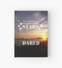 Rattle the Stars- Sarah J Maas, Throne of Glass- Sunset Hardcover Journal