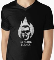 La Flama Blanca Men's V-Neck T-Shirt