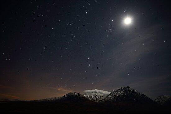 Glencoe Starscape by Maria Gaellman
