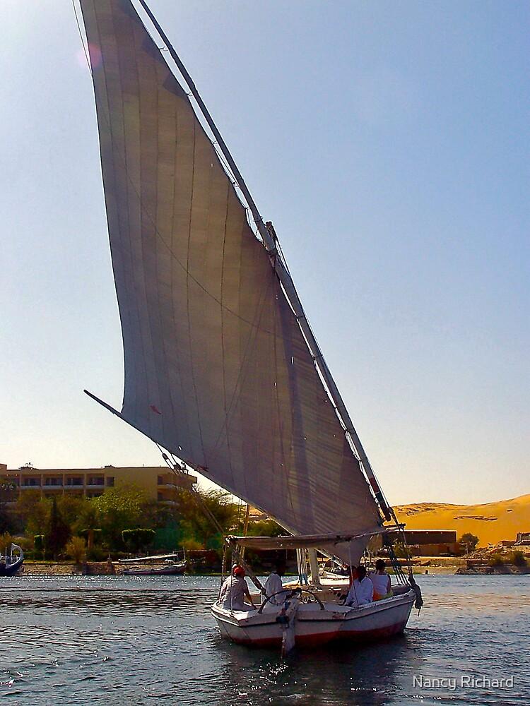 Sailing on the Nile by Nancy Richard