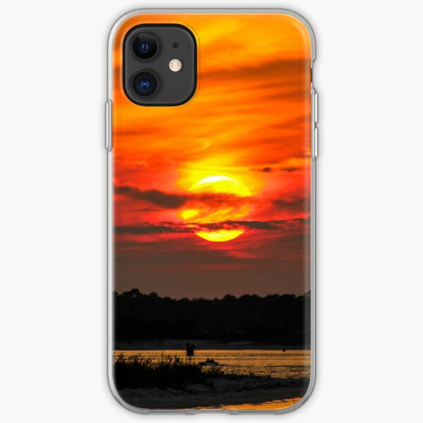 Fort Pickens Sunset iPhone Soft Case
