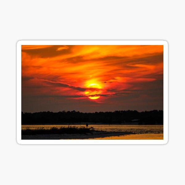 Fort Pickens Sunset Sticker