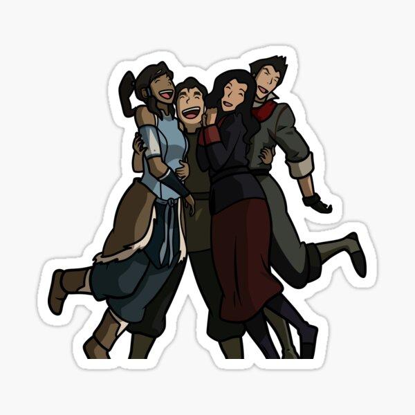 LOK Krew Sticker - hugs Sticker