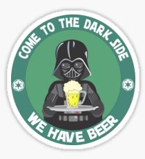 Dark Beer (we have beer) Sticker