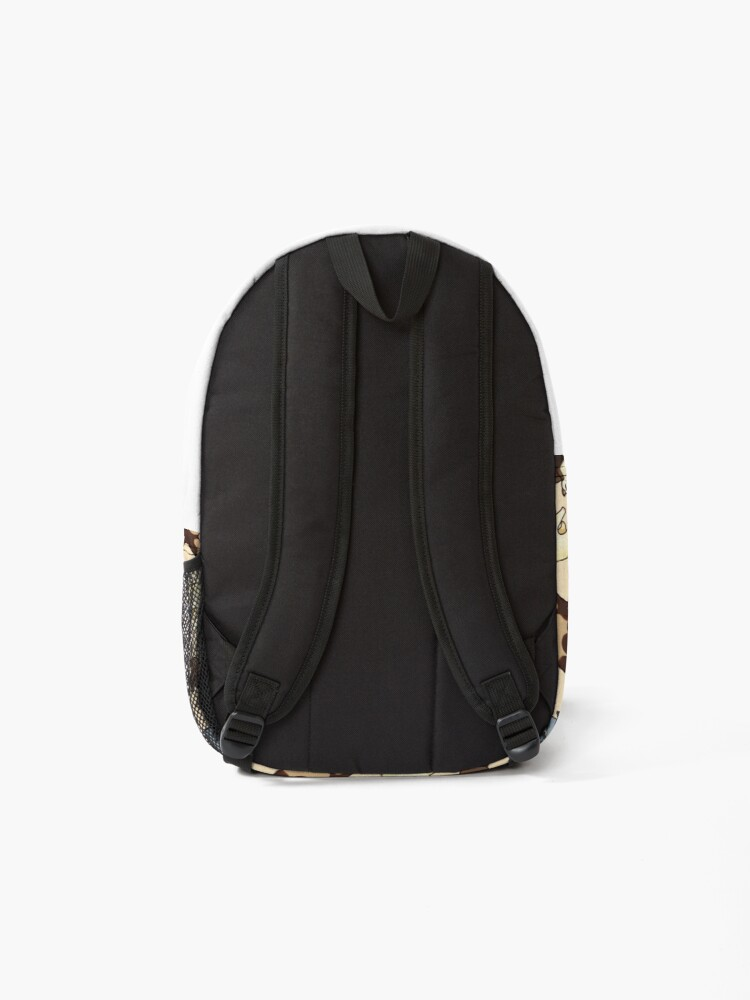 Alternate view of cat snakes Backpack