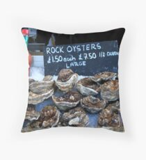 Oyster Bar - Whitstable  Throw Pillow