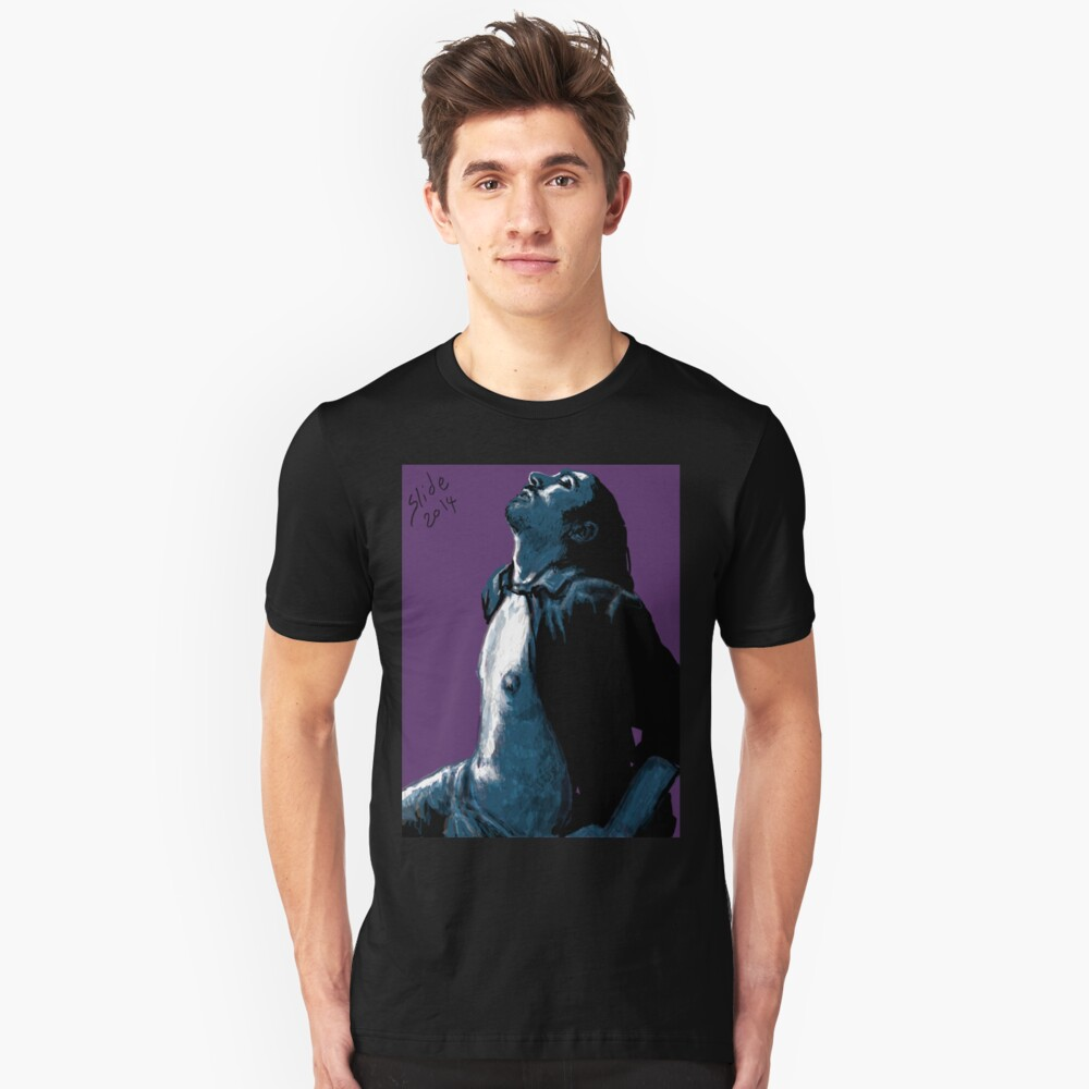 """""""His Chest, 2014"""" Slim Fit T-Shirt"""