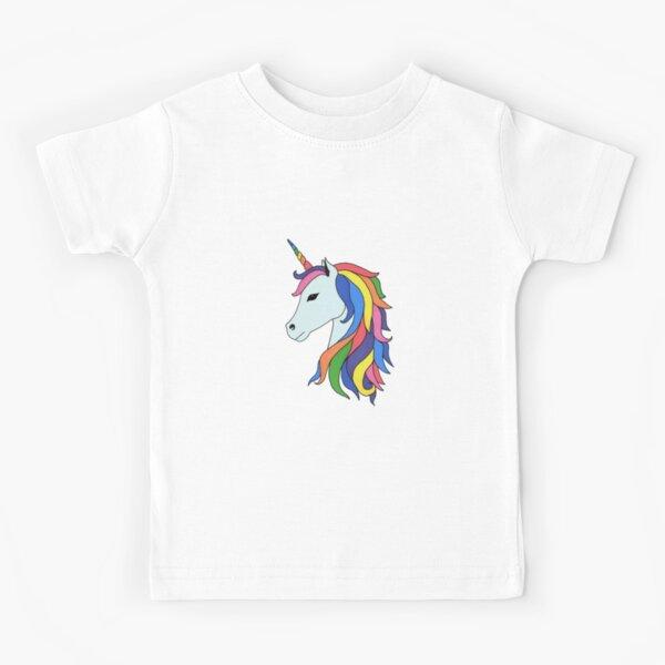 Rainbow unicorn Kids T-Shirt