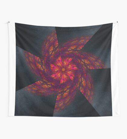 Mandala Like a Wind Wall Tapestry