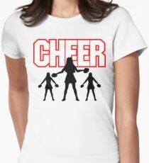 "Cheerleader ""CHEER"" Womens Fitted T-Shirt"