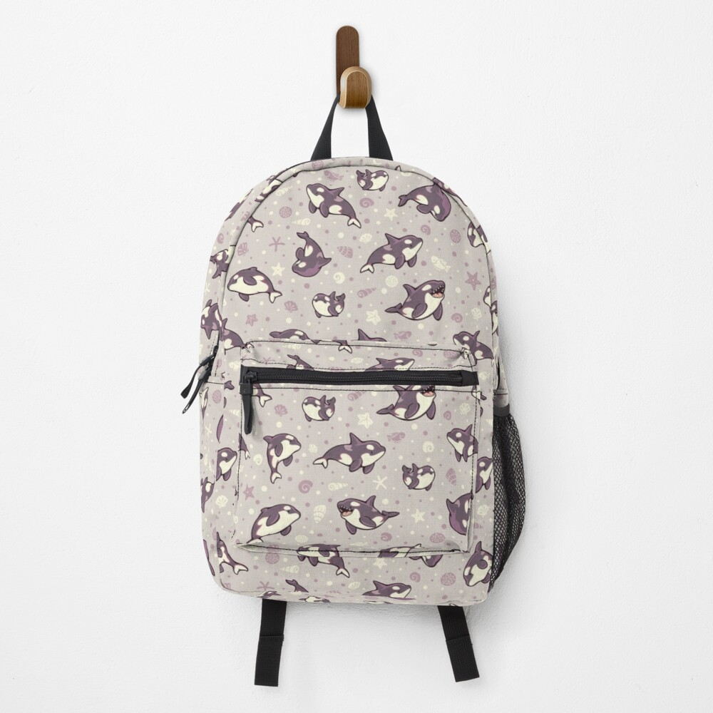 Jelly bean orcas  Backpack