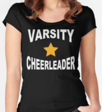 Varsity Cheerleader Women's Fitted Scoop T-Shirt