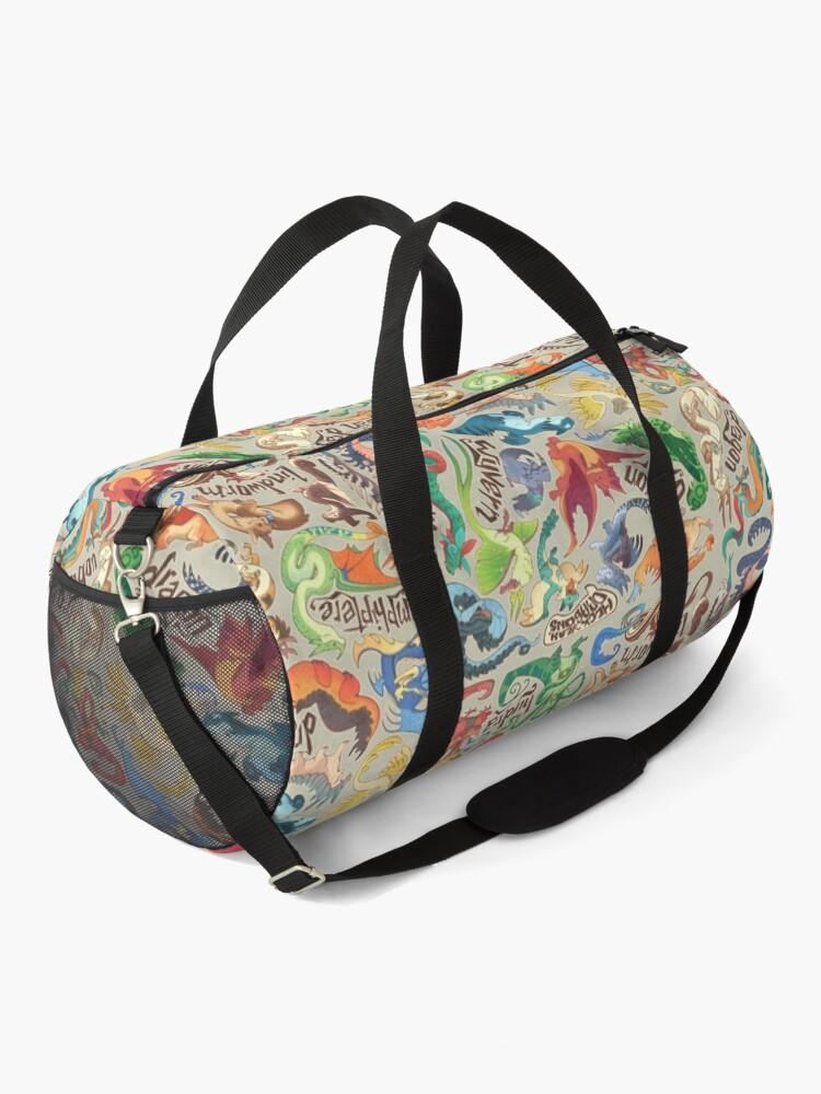 Alternate view of Mini dragon compendium  Duffle Bag