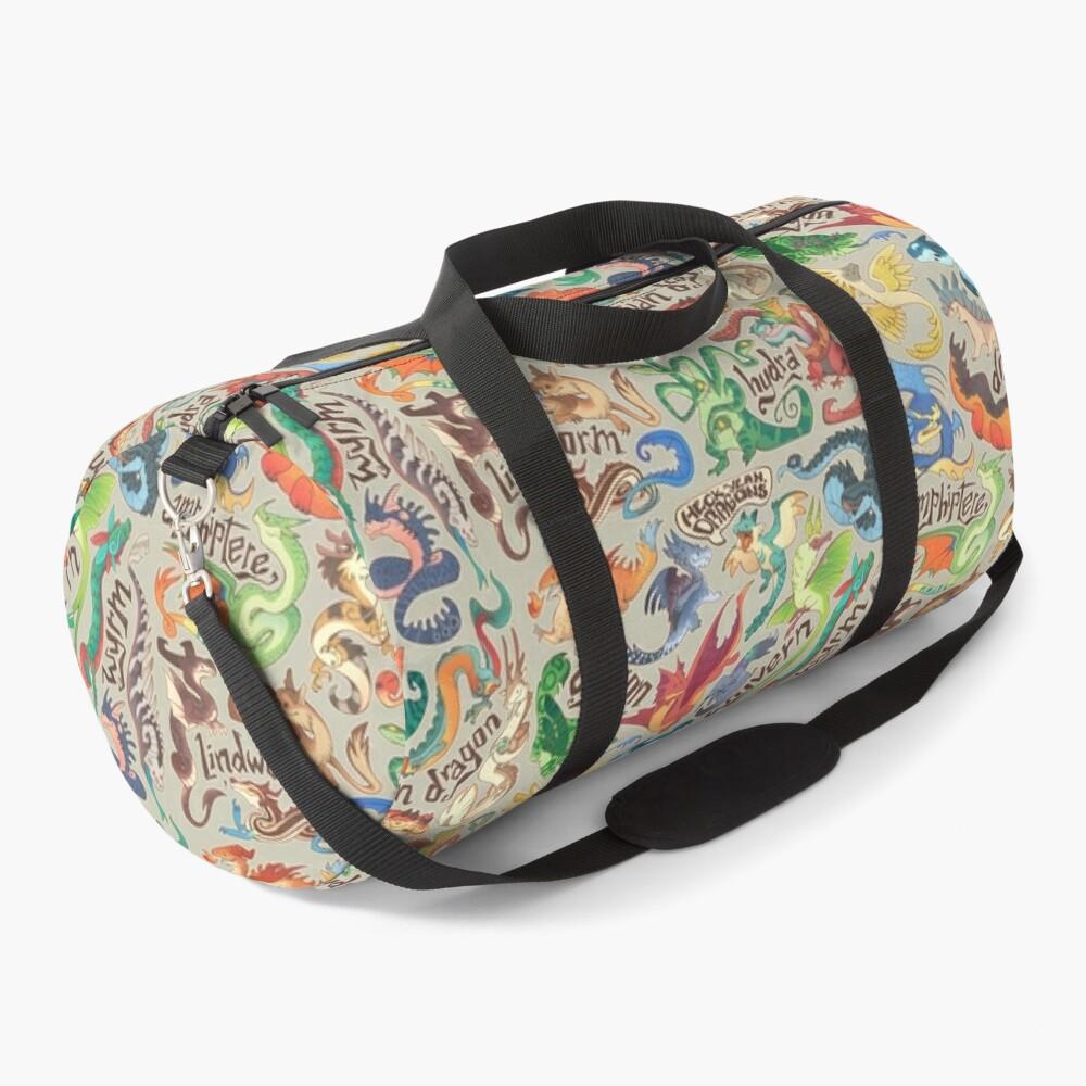 Mini dragon compendium  Duffle Bag