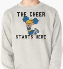 """Cheerleading """"The Cheer Starts Here"""" Pullover"""