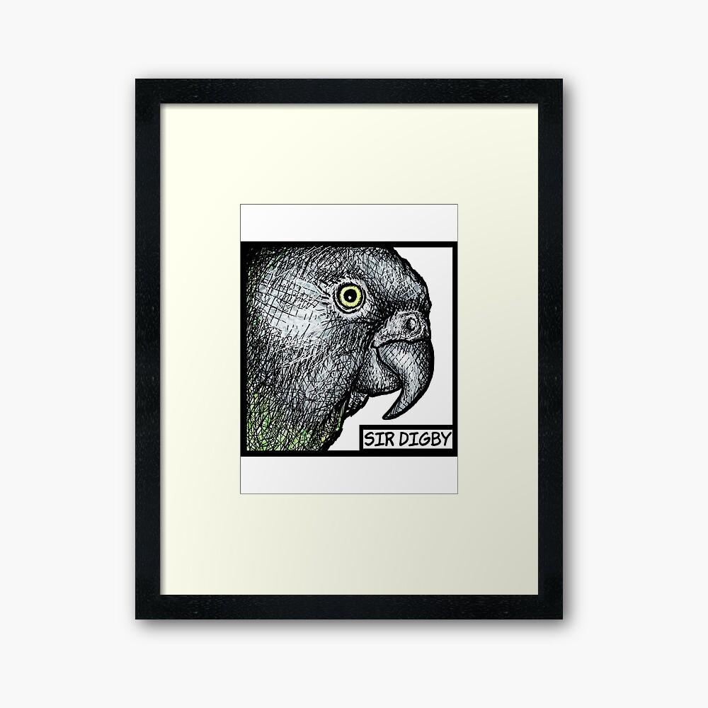 """Sir Digby, 2014"" Framed Art Print"