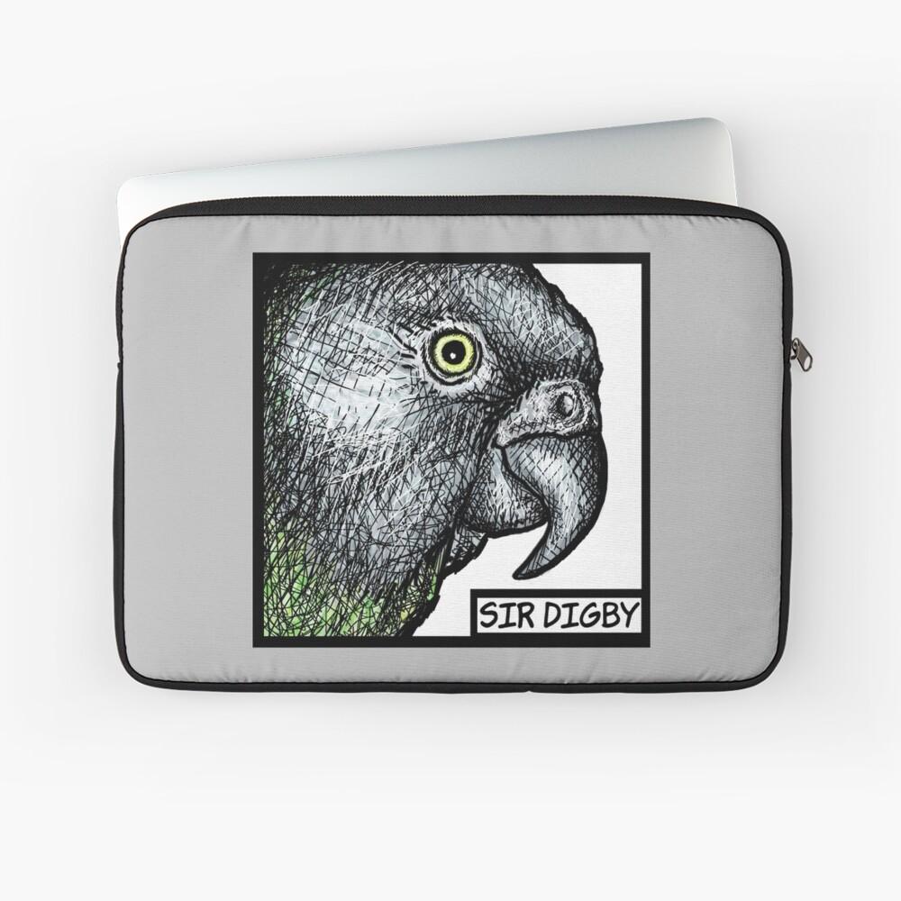 """""""Sir Digby, 2014"""" Laptop Sleeve"""