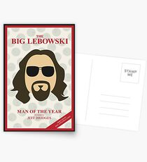 The Dude: Man of the Year Postcards