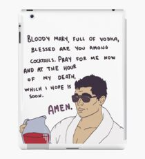 Archer & Bloody Mary iPad Case/Skin