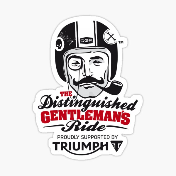 Motorcycle Themed: Triumph Rider Sticker