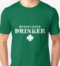 Designated Drinker - St. Patrick's Day Unisex T-Shirt