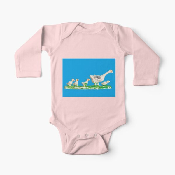 PLASTIC FANTASTIC: Gees Long Sleeve Baby One-Piece